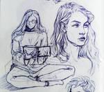 ballpen sketches
