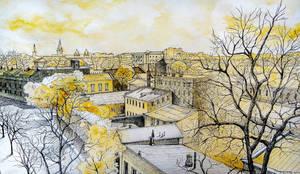 Panorama of Odessa