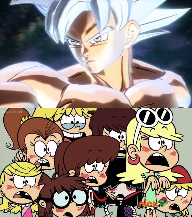 Loud Sisters Fall In Love With Ultra Instinct Goku by ...