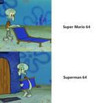Squidward's Lounge Chair Meme: SM64