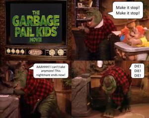 Earl Sinclair Hates Garbage Pail Kids Movie