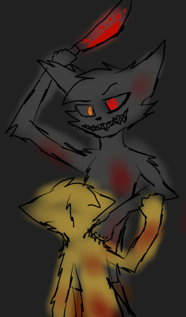evil wolf by blandy-wolf098YT