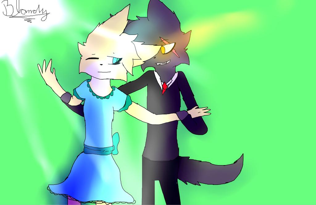 Best Friend by blandy-wolf098YT