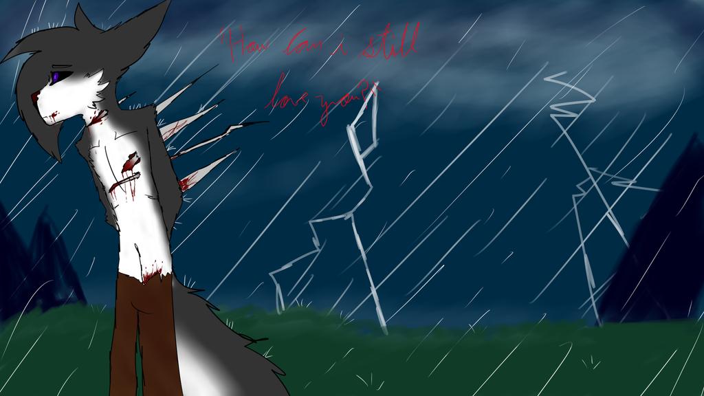 ... rain by blandy-wolf098YT