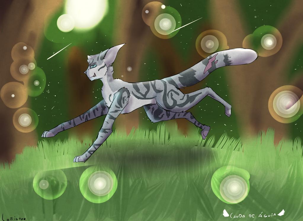 my  oc warrior by blandy-wolf098YT
