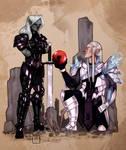 COMMISSION: Adria and Malaki.