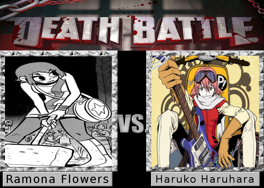 Death Battle: Haruko Haruhara vs. Ramona Flowers by SpikeJet2736