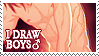 I draw boys