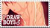 I draw boys by Kris-AJ