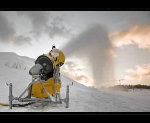 Snow weapon by WildSammy