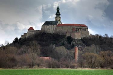 Nitra Castle II: Before rain by WildSammy
