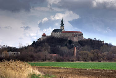 Nitra Castle III: Before rain by WildSammy