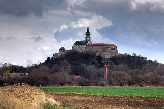 Nitra Castle III: Before rain