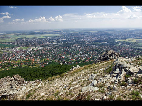Nitra from the rocks