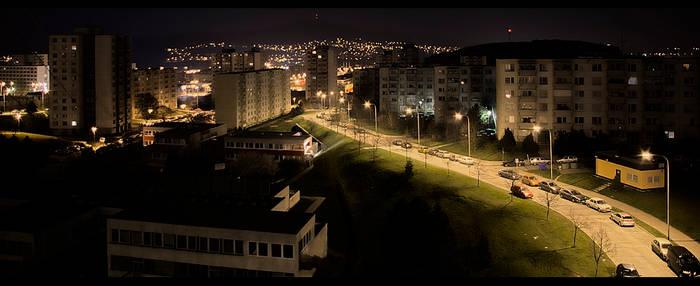 City at night _HDR_