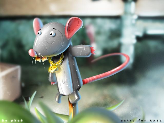 puppet rat by petque