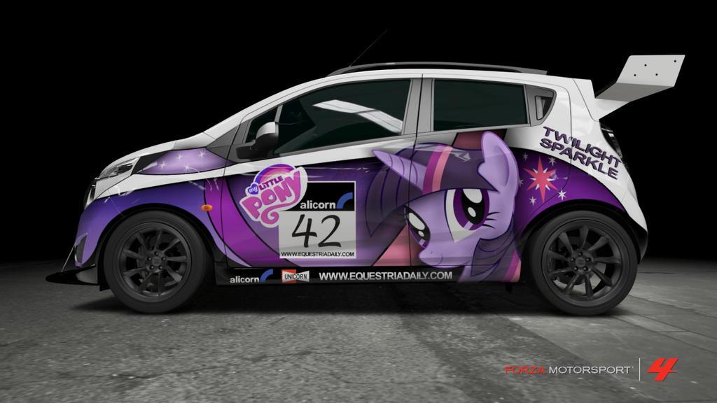 Chevrolet Spark Purple Chevrolet Spark - Twilight