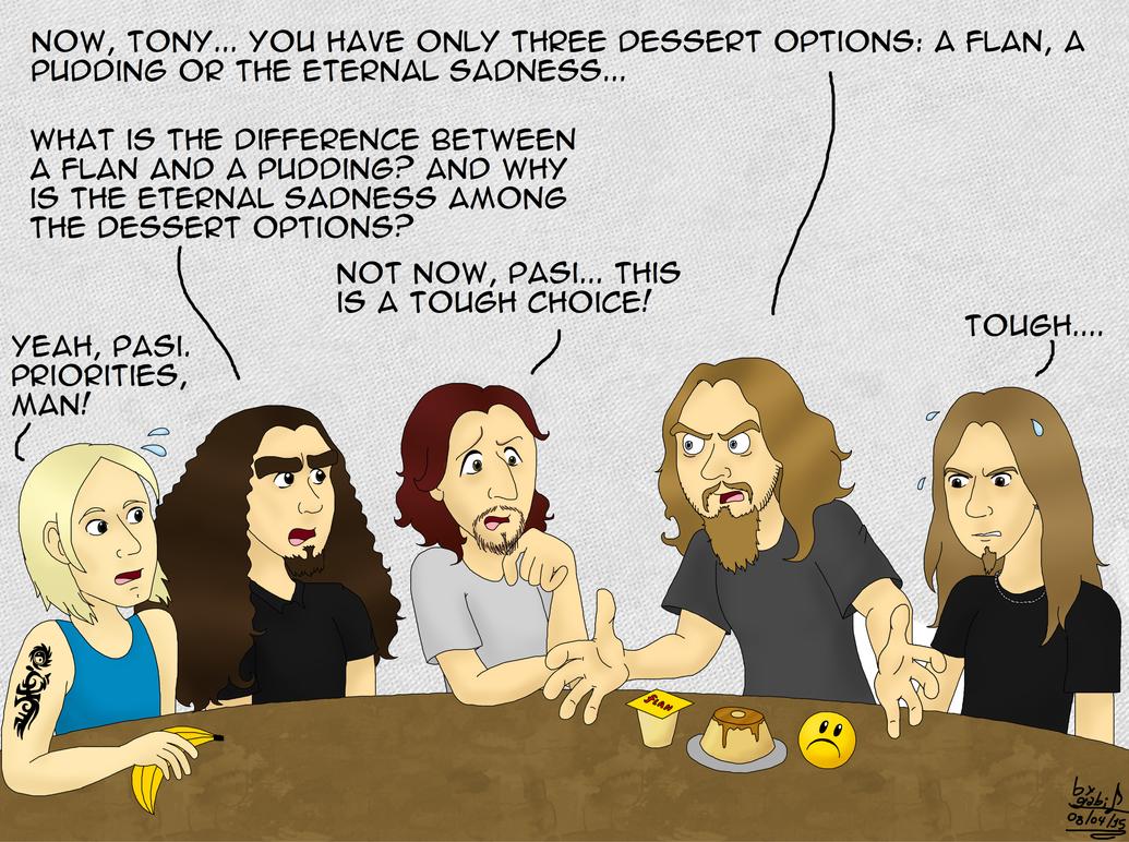 Tony's Nonsense Choice by Waffle-the-kitten