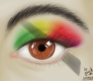 Year Of The Black Rainbow Makeup by Waffle-the-kitten