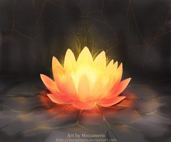 Fireflower by Mezamero