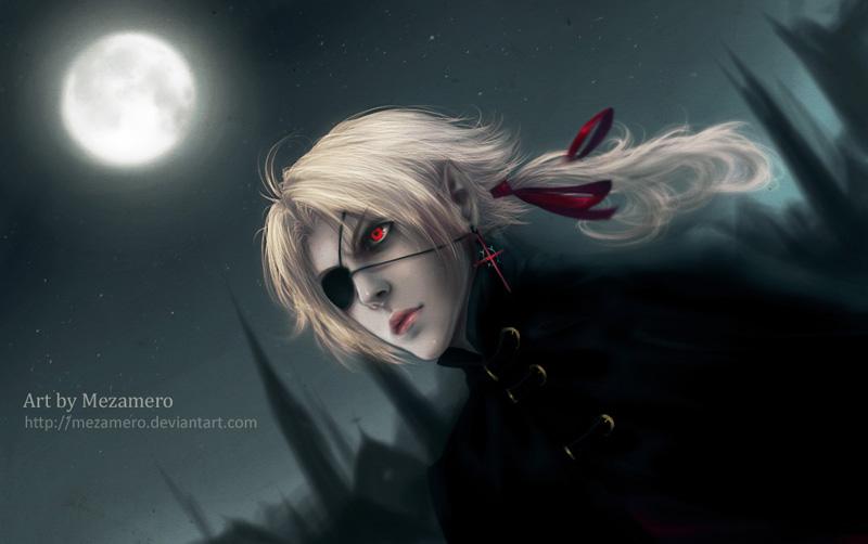 Aaren: Night sky by Mezamero