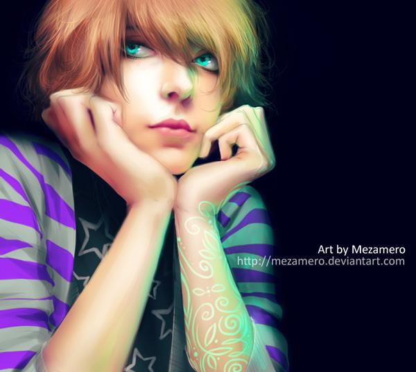 Me as a Mitsu by Mezamero