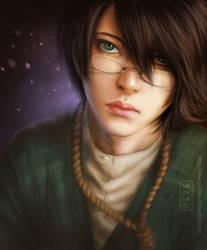 Portrait of despair by Mezamero