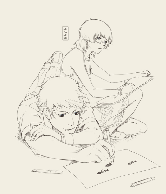 Together drawings