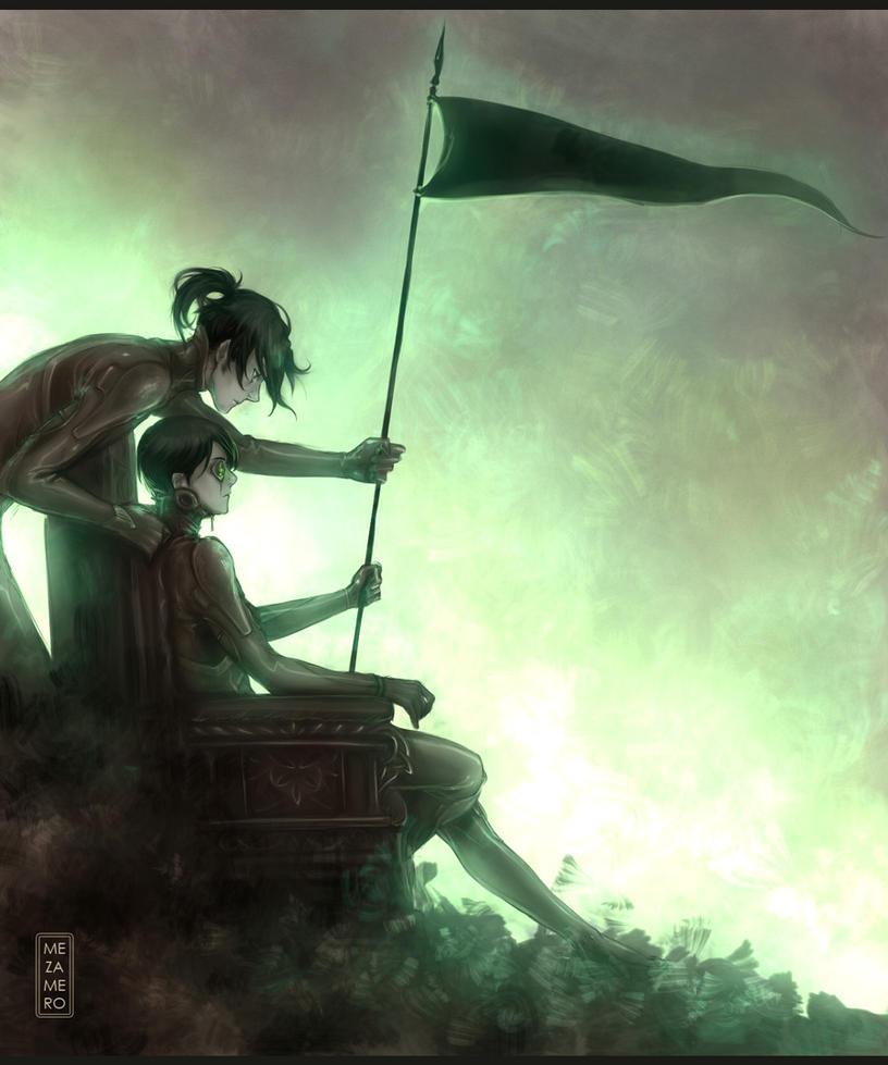 The flag by Mezamero