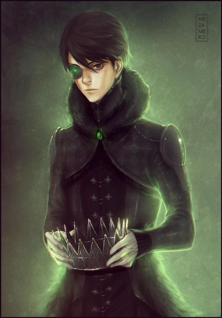 Black crown by Mezamero