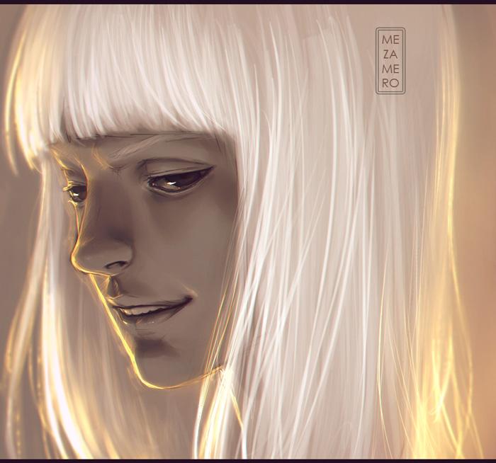 Shinji sketch by Mezamero