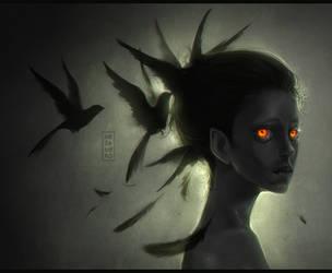 Blackbird by Mezamero