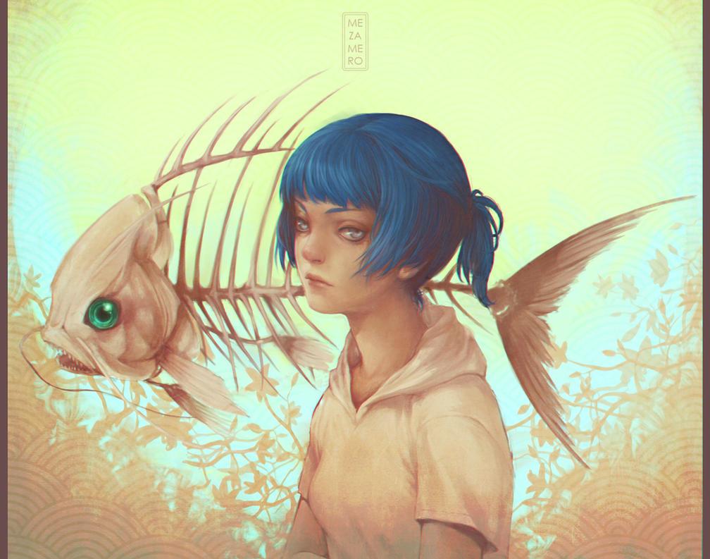 Kaori finished by Mezamero