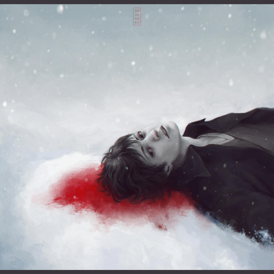 halo of blood by Mezamero
