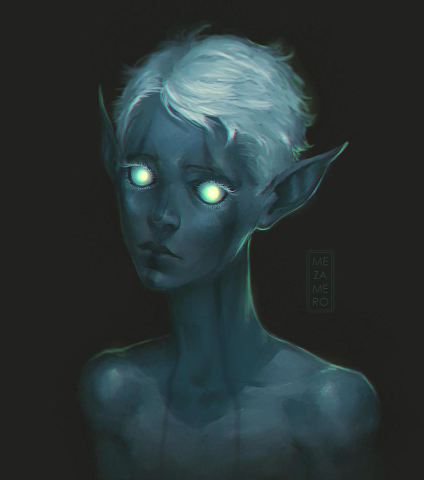 blue by Mezamero