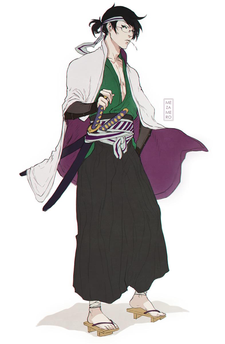 Zetsubou ronin by Mezamero