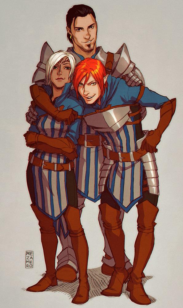 Heroes of Ferelden by Mezamero
