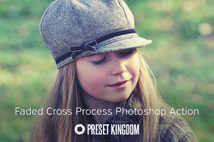 Free Faded Cross Process Photoshop Action by presetkingdom