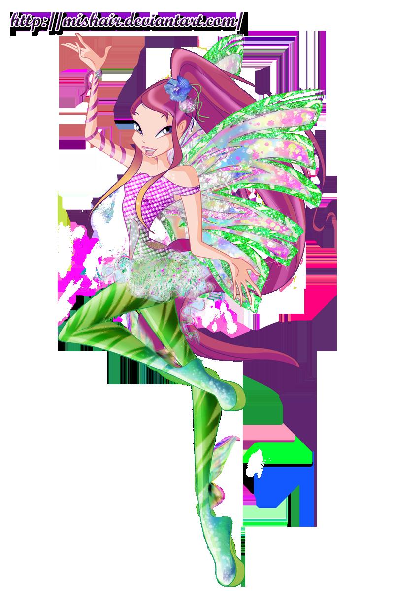 Winx club sirenix transformation 2d and 3d favourites by - Winx club sirenix ...