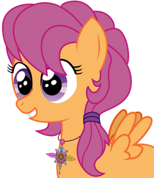 Scootaloo With G3.5 Look By Gutovi Kun