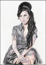 Amy Winehouse by MeTheObscure