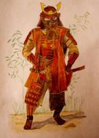 Samurai Armour by MeTheObscure