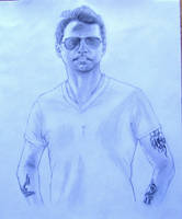 Dave_Gahan_Sketch by MeTheObscure