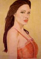 Angelina Jolie by MeTheObscure