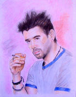 Colin Farrell by MeTheObscure