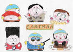 The Many Faces of E. Cartman