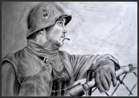 Waffen SS Soldier by MeTheObscure