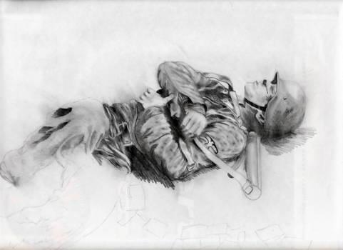 Dead Soldier WIP by MeTheObscure