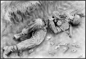 Dead Member of Waffen SS