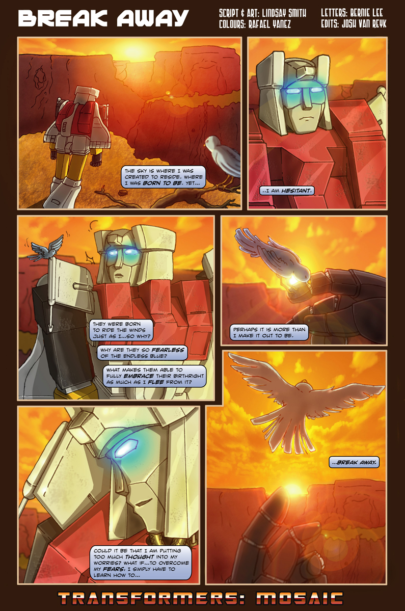 """Break Away"" by Transformers-Mosaic"